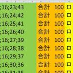 ロト 6 合計 100 (43から6)  ビデオ 1130