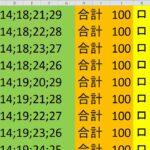 ロト 6 合計 100 (43から6)  ビデオ 2046