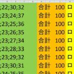 ロト 6 合計 100 (43から6)  ビデオ 681