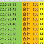 ロト 6 合計 100 (43から6)  ビデオ 695