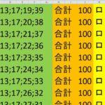 ロト 6 合計 100 (43から6)  ビデオ 896