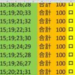 ロト 6 合計 100 (43から6)  ビデオ 920