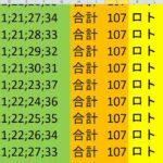 ロト 6 合計 107 (43から6)  ビデオ 176