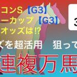 オッズを超活用狙ってGET三連複万馬券 【3/20予想】