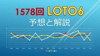 2021年4月19日、1578回ロト6の当選数字を予想