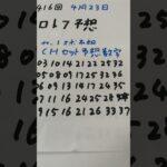4月23日  第416回  ロト7予想