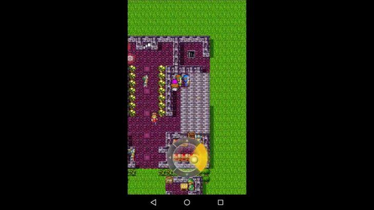 スマホ・Android版・スクウェア・エニックス・ドラクエ2・第7・ロトの兜入手、海底の洞窟へ