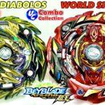 【ギャンブル×万能】マスターディアボロス vs ワールドスプリガン ベイブレードバースト MASTER DIABOLOS VS WORLD SPRIGGAN Beyblade Burst