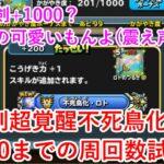 【星ドラ】ロト剣超覚醒不死鳥化達成と+1000までの周回数試算(コメント欄に訂正内容があります)