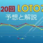 2021年5月21日、420回ロト7の当選数字を予想