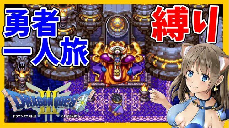 #3【ドラクエ3】勇者の一人旅縛り!そして伝説へ…【ロトシリーズ/DQ3】