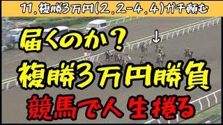 【競馬】【給料】大井競馬で複勝3万円勝負!【ギャンブル依存症のGW】