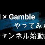 【ギャンブル】第000回 チャンネル始動!【AI】