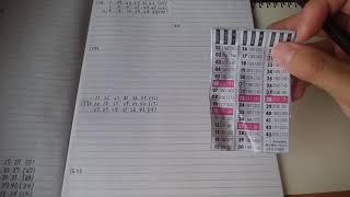 【ロト6】第1592回号予想数字です。【不定期予想】