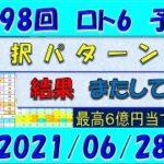 第1598回 ロト6予想 2021年6月28日抽選