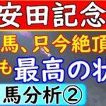 安田記念2021年の予想オッズ上位馬分析パート②!只今絶頂期の馬発見