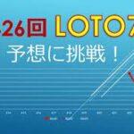 2021年7月2日、426回ロト7の当選数字を予想に挑戦!