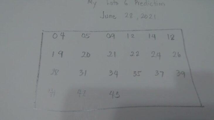 ロト6: My loto 6 prediction   Loto 6 Japan