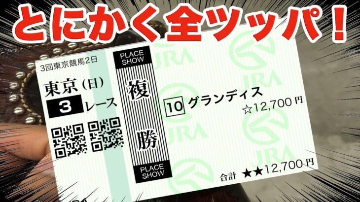 【競馬に人生賭けた大勝負】安田記念当日に挑んだ前半戦!【ギャンブル中毒】【検証】