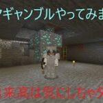 マイクラ【へっぽこ日記】0015 ダイヤギャンブルやってみました。