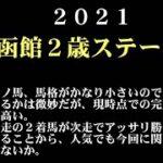 【ゼロ太郎】「函館2歳ステークス2021」出走予定馬・予想オッズ・人気馬見解