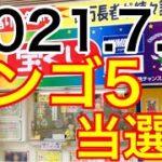 【2021.7.8】ビンゴ5当選!&ロト6予想!