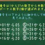 【ロト7】♯1 ロト7初挑戦 第428回の予想