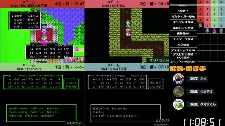 【DQ4→DQ2】第16回ロト天空DQRTA駅伝対決【ミラー】(ネタバレあり)Part3