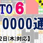 🟢ロト6・10000通り表示🟢8月12日(木)対応