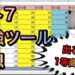 ロト7最強ツール予想!目指せ1等高額当選!宝くじ第358回ロト7
