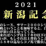 【ゼロ太郎】「新潟記念2021」出走予定馬・予想オッズ・人気馬見解