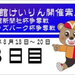 (2021/8/20)  函館新聞社杯争奪戦・オッズパーク杯争奪戦 3日目|函館競輪