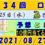 第434回 ロト7予想 2021年8月27日抽選