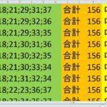 ロト7 合計 156 ビデオ 17