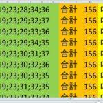ロト7 合計 156 ビデオ 31