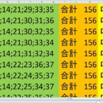 ロト7 合計 156 ビデオ 54