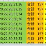 ロト7 合計 157 ビデオ 16