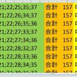 ロト7 合計 157 ビデオ 25