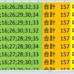 ロト7 合計 157 ビデオ 89