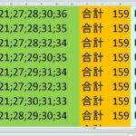 ロト7 合計 159 ビデオ 13