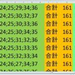 ロト7 合計 161 ビデオ 10