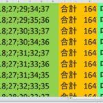 ロト7 合計 164 ビデオ 15