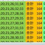 ロト7 合計 164 ビデオ 23