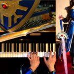 ドラクエⅢ ロトのテーマ(序曲)~そして伝説へ ピアノ (ロトの鎧 作ってみた) DQ3 ED PIANO