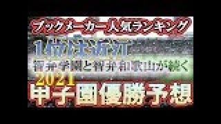 【オッズ】甲子園優勝予想!ブックメーカーの人気ランキング1位は近江、智弁学園と智弁和歌山が続く
