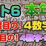 ロト6~今年3度目!!の4数字!!今年2度目!!の4数字+B数字wwww星矢式をナメんなよ!!