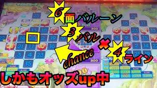 【アニマロッタ6】6面バルーンで神展開!?3バル✖️4LINEオッズアップチャンス!