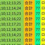 ロト 7 合計 77 ビデオ 48