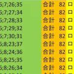 ロト 7 合計 82 ビデオ 9