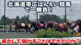 【北海道帯広ばんえい競馬】ギャンブル初心者でも充分楽しめる観光での遊び感覚に最適 帯広競馬場~果たして儲かることはできたのか Japanese special horse racing